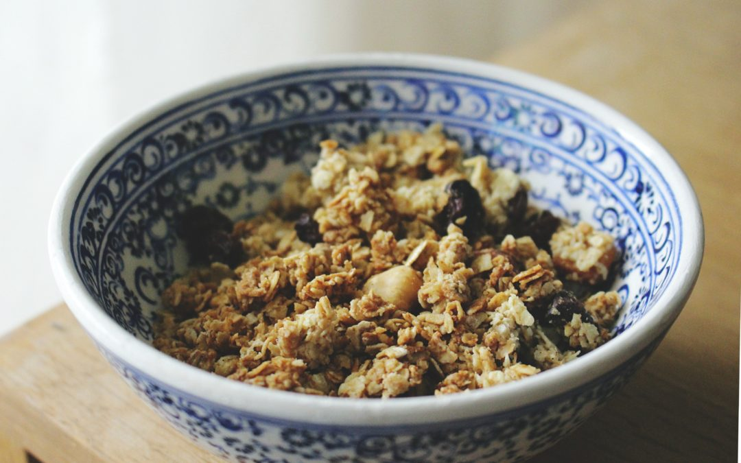 Recipe / Sprouted Nut Granola